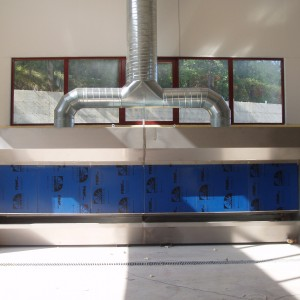 Water Wall Dust Extractor